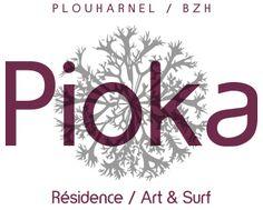 logo PIOKA - Résidence art/surf