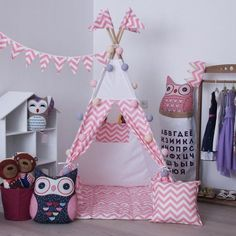 Tent House For Kids, How To Make Balloon, Kids Tents, Teepee Tent, Baby Room, Kids Room, Balloons, Room Decor, Baby Shower