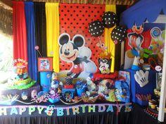 Castillos Eventos... de Ursula Newman: Decoracion Fiesta Infantil Mickey Mouse y sus amig...