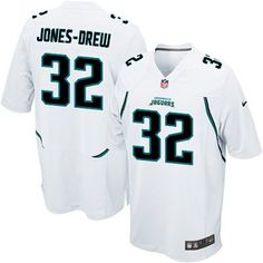 Jaguars 32 Maurice Jones-Drew Nike Game Jersey Away white