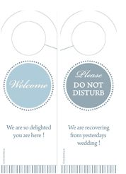 Cool Idea For Diy Door Hangers  Miscellaneous