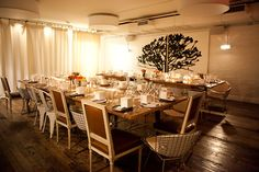 Haven's Kitchen upstairs lounge/event space