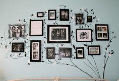 Family Tree- Love this idea!
