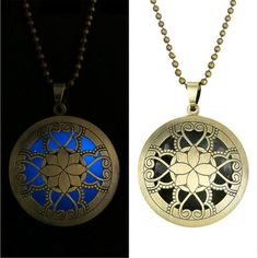 Only US$3.24 , shop Vintage Bronze Steam Punk Luminous Necklace Hollow Opened Pendant Chain at Banggood.com. Buy fashion Men Necklaces online.