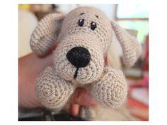 pattern: http://www.ravelry.com/patterns/library/amigurumi-dog-pattern