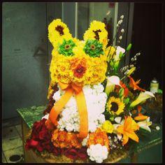 Animal made of flowers!!!