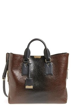 This Burberry 'Large Callaghan' leather tote screams luxury.