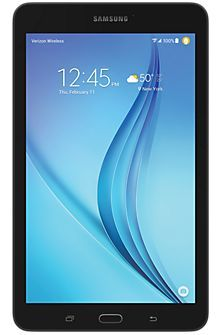 "Samsung Galaxy Tab® E (8.0"") in Black"