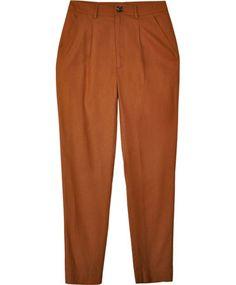 Dusen Dusen Copper Pleated Pants.