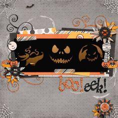 Halloween Scrapbook Ideas | jack-o'-lanterns