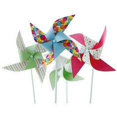 Martha Stewart Crafts Modern Festive Pinwheel Kit - for goody bag