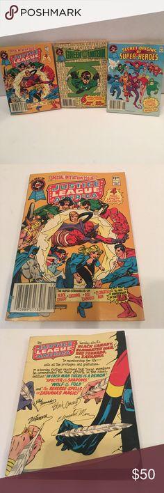 RARE VINTAGE NIP MARVEL COMIC-BOOKS AMAZING VINTAGE MARVEL COMIC BOKS! GREEN LANTERN, JUSTICE LEAGUE & SUPER-HEROS! Marvel Other