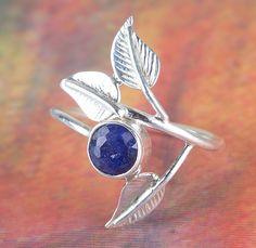 Verlobungsringe - 925 Sterling Silber Saphir Ring - ein Designerstück von…
