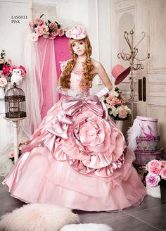 Pink Colour Dress, Pink Dress, Disney Princess Dresses, Princess Wedding Dresses, Long Formal Gowns, Formal Dresses, Fairytale Gown, Pretty Dresses, Awesome Dresses