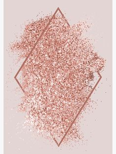 'Rose Gold Glitter Geometrical Art' Poster by newburyboutiqu.- 'Rose Gold Glitter Geometrical Art' Poster by newburyboutique Rose gold glitter geometrical artwork design. Pink And White Background, Gold Wallpaper Background, Gold Glitter Background, Rose Gold Wallpaper, Wallpaper Backgrounds, Art Background, Beauty Background, Rose Gold Lockscreen, Background Images For Quotes