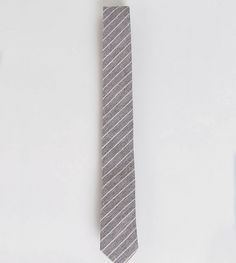 Noak Tie In Stripe - Gray