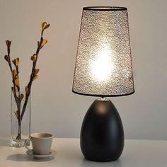 Fashion Simple Bedroom Bedsides Desk Lamp Creative Fabric Study Room Desk Light Living Room Table Lamps