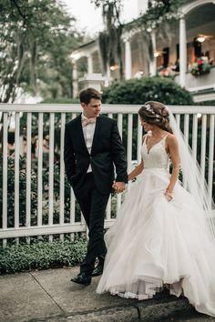 Wedding Day Our Wedding Photos! Wedding Goals, Wedding Pics, Wedding Events, Our Wedding, Wedding Planning, Dream Wedding, Couples Wedding Rings, Long Wedding Dresses, Elegant Wedding Dress