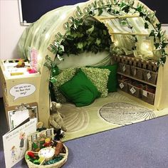 This little reading nook is amazing! – An Apple for the Teacher This little reading nook is amazing! This little reading nook is amazing! Reading Corner Classroom, Classroom Setting, Classroom Setup, Classroom Design, Reception Classroom Ideas, Kindergarten Reading Corner, Garden Theme Classroom, Book Corner Ideas Preschool, Book Corner Eyfs