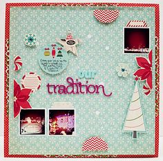 Beautiful layout from Designer @Jaime Warren using #GlueArts and @October Afternoon