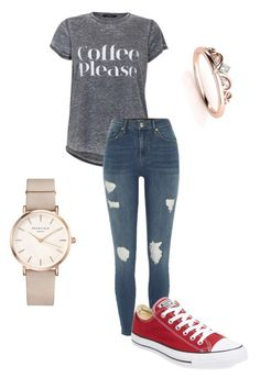 """Untitled #57"" by jay-love12 on Polyvore featuring River Island, Converse and ROSEFIELD"