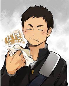 ~Sawamura Daichi~ Anime is actually a thing stripped away from The french language, that Daichi Sawamura, Daisuga, Haikyuu Karasuno, Kagehina, Oikawa, Haikyuu Ships, Haikyuu Fanart, Haikyuu Anime, Wattpad