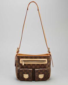 bc5db28effa3 Louis Vuitton Monogram Canvas Hudson GM Women  Bags  ShoulderBags