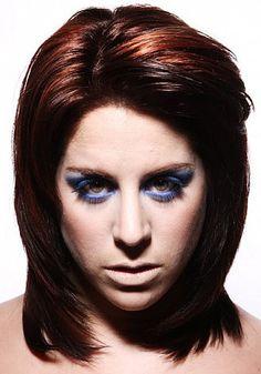 Prachtig rode haarkleur