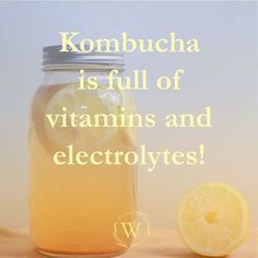 So make sure to drink up 👍 Kombucha, Brewing, Vitamins, Drinks, How To Make, Instagram, Drinking, Beverages, Drink