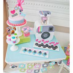 Insta Party Teen Tween Birthday Party Customized Camera Face