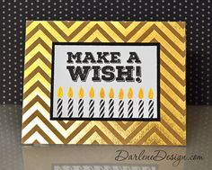 3 cards Simon Says Stamp April Card Kit! Make A Wish, How To Make, Simon Says Stamp, Card Kit, Watercolor Background, Paper Crafting, Your Cards, Fun Crafts, Cardmaking