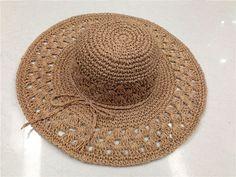 Crochet Vest Pattern, Crochet Stitches, Knit Crochet, Crochet Hats, Crochet Scarves, Crochet Clothes, Sombrero A Crochet, Crochet Placemats, Hat Patterns