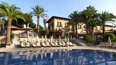 Castillo Hotel Son Vida a luxury Hotel. In addition to the indoor pool, there is a whirlpool, sauna, steam bath, ice fountain, and solarium - verything needed for complete relaxation. #luxuryhotel #hotel Castillo Hotel Son Vida - Mallorca Island - Spain