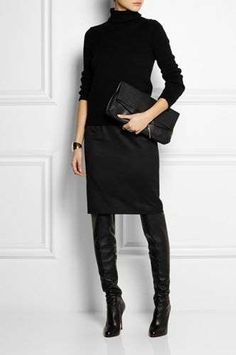 All black style