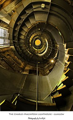 Another incredible architectural image Charles Macintosh Lighthouse, Glasgow, Scotland Glasgow Architecture, Beautiful Architecture, Art And Architecture, Architecture Details, Glasgow Scotland, England And Scotland, Scotland Travel, Scotland Uk, Charles Rennie Mackintosh