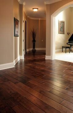 Entryway Inspiration Unpainted Wood Trim And Hardwood