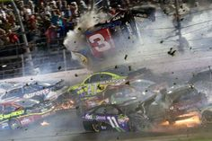 Photos: The most harrowing NASCAR crashes from which drivers walked away   FOX Sports