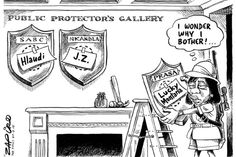 Zapiro: Madonsela's missing heads - Mail & Guardian