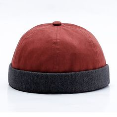 509bcdae66264 Men Women Couples Adjustable Solid Corduroy Velvet Brimless Hats Retro  Vogue Crimping Bucket Cap Cheap -
