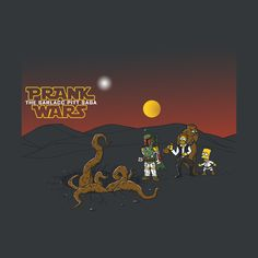 Star Wars and Simpsons inspired