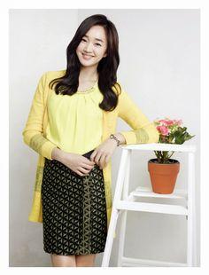 Soo Ae - Olivia Lauren Spring 2014