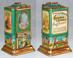Hartwig & Vogel chocolate dispenser and money bank