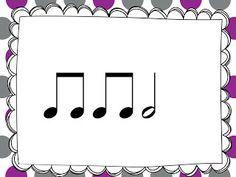 2nd Grade Rhythm Cards - Free!