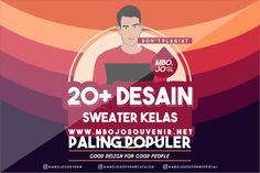 20+ Desain Sweater Kelas Paling Populer Tahun ini