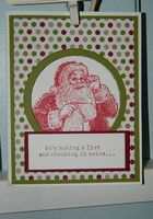 Santa's List Stamp Set by Stampin' UP! used. Happy Crafting~ Dee