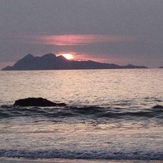 Vigo, Spain. #Sunset Vigo Estuary.