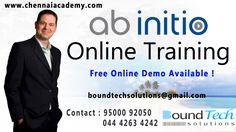 #AbInitio #training in chennai  BoundTech solutions provide best abinitio online training #abinitioTrainingInChennai