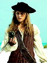 1k gifs MY EDIT jack sparrow pirates of the caribbean will turner elizabeth swann James Norrington davy jones potcedit potccostumes costume series