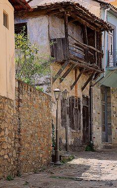 Arnea, a small town in Halkidiki, Greece