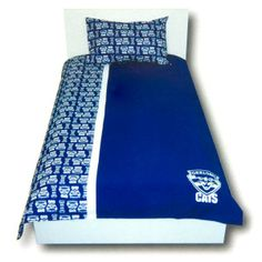 Geelong Cats Quilt Doona Cover Set, Single, Queen or Double whatever you need